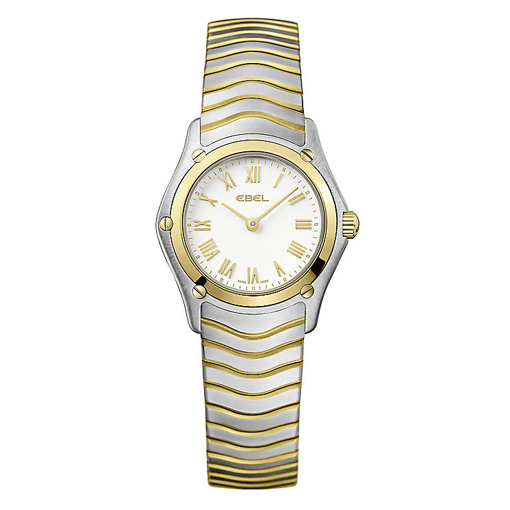 Ebel ladies' two tone bracelet watch - Product number 9009876