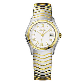 Ebel ladies' two tone bracelet watch - Product number 9009922