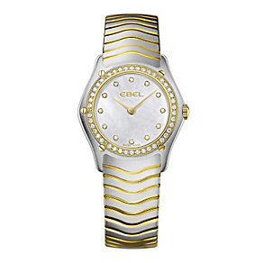 Ebel ladies' gold/stainless steel bracelet watch. - Product number 9009957