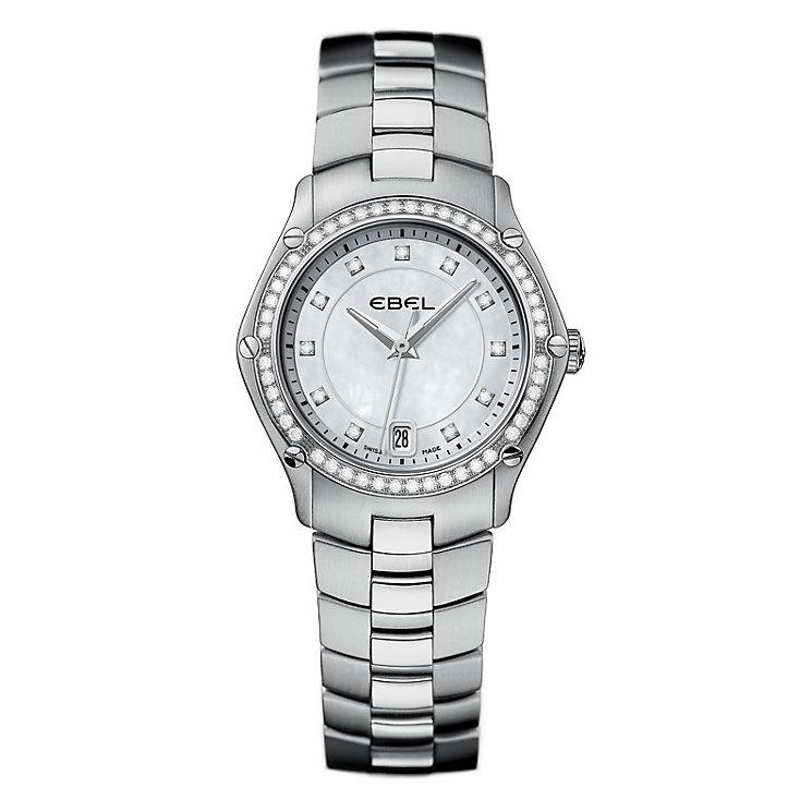 Ebel ladies' diamond & stainless steel bracelet watch - Product number 9010483