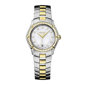 Ebel diamond & two colour bracelet watch - Product number 9010742