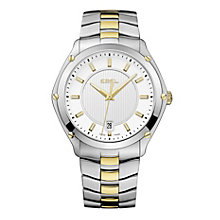 Ebel men's two tone bracelet watch - Product number 9010793