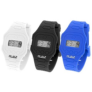Limited Men's Set of 3 Rubber Strap Watches - Product number 9010831
