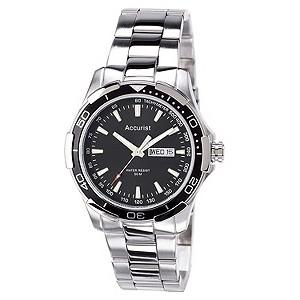 Garmin   Deals on Accurist Men 39s Sports Stainless Steel Bracelet Watch Accurist Men S