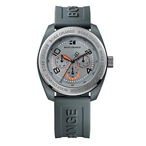 Boss Orange Men's Grey Strap Watch - Product number 9013016