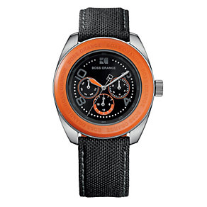 Boss Orange Men's Black Strap Watch - Product number 9013032