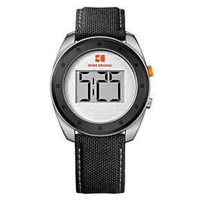 Boss Orange Men's Black Strap Watch - Product number 9013091