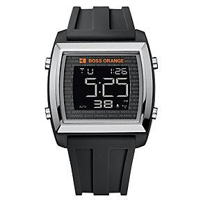 Boss Orange Men's Black Strap Watch - Product number 9013148