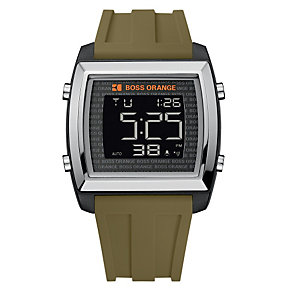 Boss Orange Men's Black Strap Watch - Product number 9013156