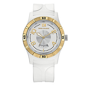 Boss Orange Men's White Strap Watch - Product number 9013164