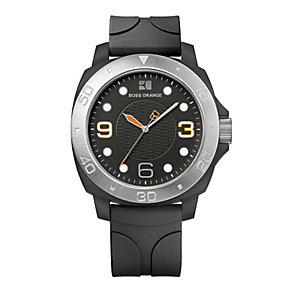 Boss Orange Men's Black Strap Watch - Product number 9013180