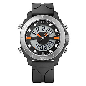 Boss Orange Men's Black Strap Watch - Product number 9013229