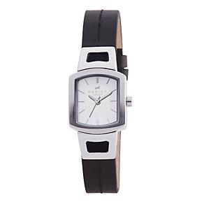 Radley Ladies' Black Leather Strap Watch - Product number 9013504