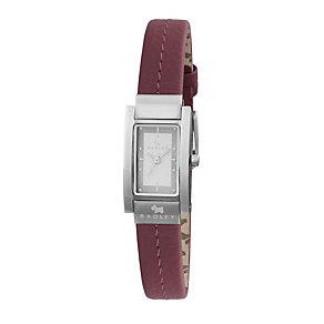 Radley Ladies' Red Strap Watch - Product number 9013547