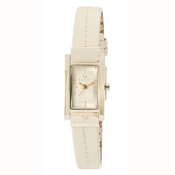 Radley Ladies' Cream Strap Watch - Product number 9013563