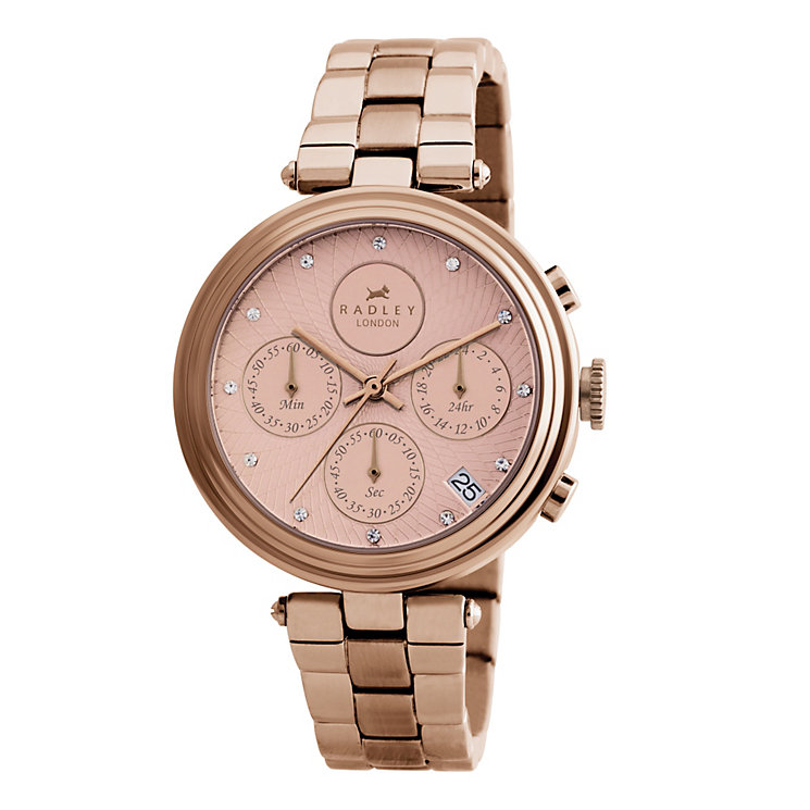 Radley Ladies' Rose Gold Bracelet Watch - Product number 9013822