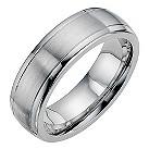 Cobalt satin & polished 7mm wedding band - Product number 9013865