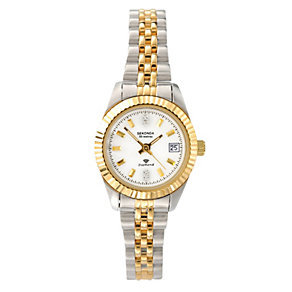 Sekonda Ladies' Two Tone Bracelet Watch - Product number 9014500