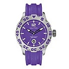 Nautica men's purple jelly strap watch - Product number 9018018