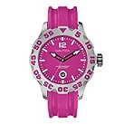 Nautica men's pink jelly strap watch - Product number 9018026