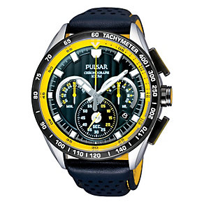 Pulsar Men's Black Strap Watch - Product number 9018670