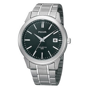 Pulsar Men's Two Tone Bracelet Watch - Product number 9018697