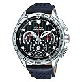 Pulsar Men's Black Strap Chronograph Watch - Product number 9018816