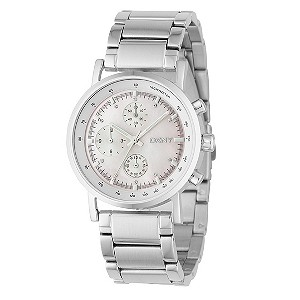 DKNY ladies' stainless steel chronograph bracelet watch - Product number 9018999