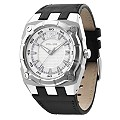 Police Men's Black Leather Strap Watch - Product number 9020071