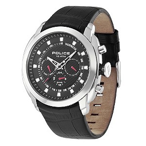 Police Men's Black Strap Watch - Product number 9020152
