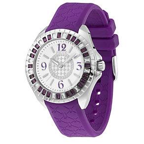 Police Jade Ladies' Purple Strap Watch - Product number 9020373