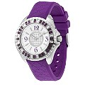 Police Jade Ladies' Purple Strap Watch - Product number 9020373