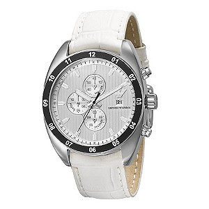 Emporio Armani White Strap Watch - Product number 9023208
