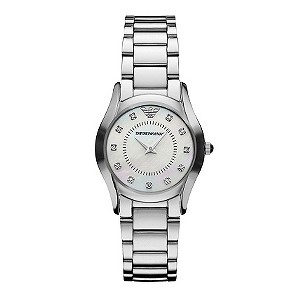 Emporio Armani ladies' stainless steel bracelet watch - Product number 9023569