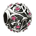 Chamilia Fuschia Vine Leaves Bead - Product number 9024603