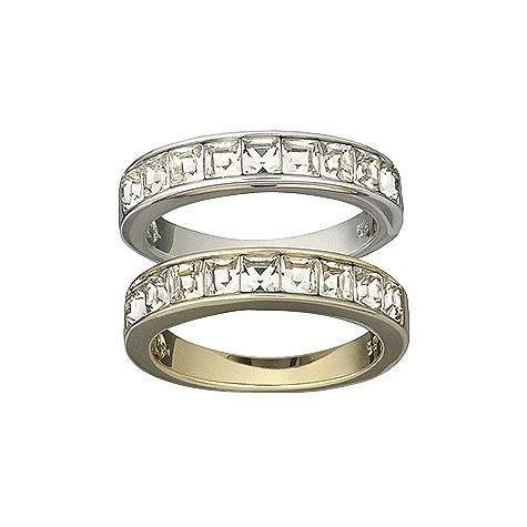 Swarovski Honestly rings - size O