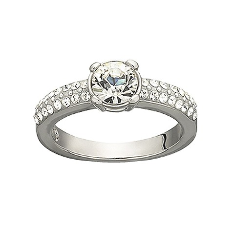 Swarovski dazzle ring - size L 1/2