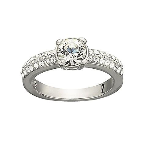 Swarovski dazzle ring - size Q 1/2