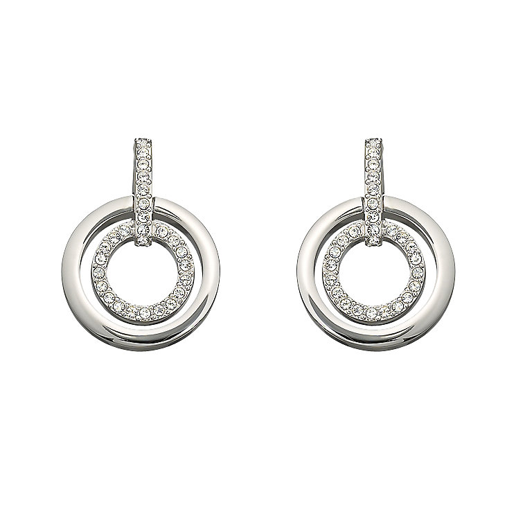 Swarovski double circle earrings - Product number 9025405