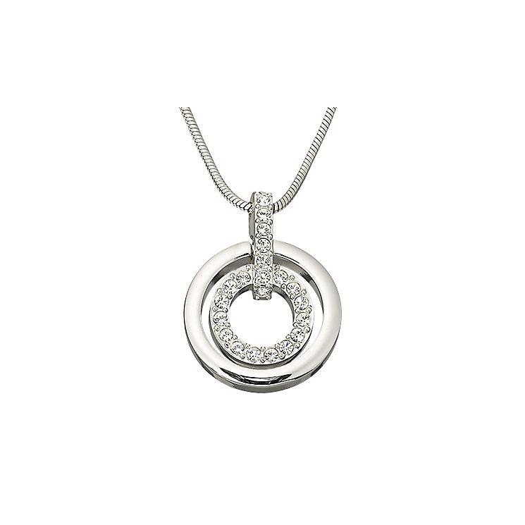 Swarovski double circle pendant - Product number 9025421