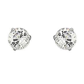 Swarovski crystal solitaire stud earrings - Product number 9025553
