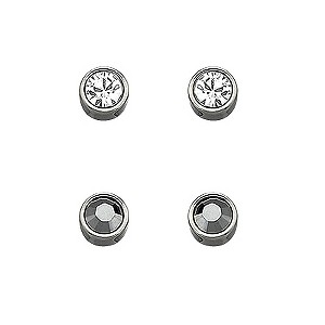 Swarovski Harley Jet stud earrings - Product number 9025561
