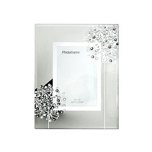 H Samuel Glass Photo Frame 5 x 3