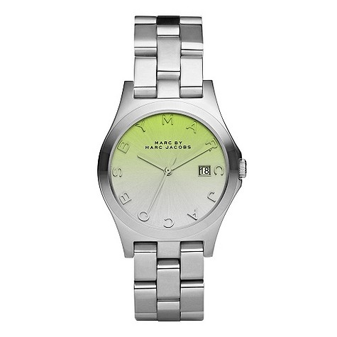 Marc By Marc Jacobs crystal gradient stainless steel watch