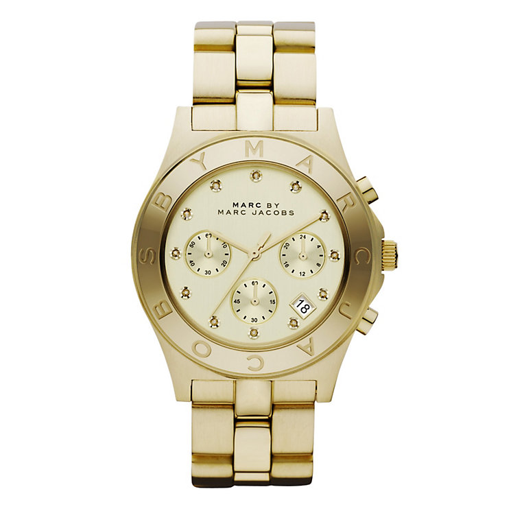 Marc Jacobs Ladies' Gold Tone Bracelet Watch - Product number 9026444