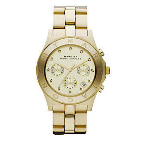 Marc By Marc Jacobs ladies' gold plated bracelet watch - Product number 9026444