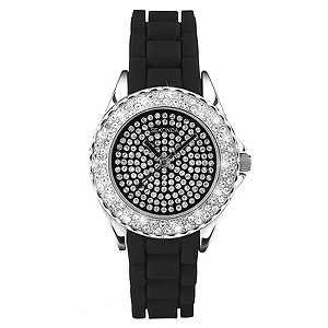 Sekonda Exclusive Ladies' Black Pave Bracelet Watch - Product number 9030905