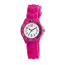 Tikkers Children's Pink Silicone Watch - Product number 9031782