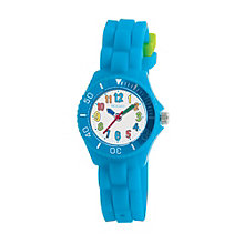 Tikkers Children's Blue Silicone Watch - Product number 9031790