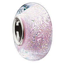 Miss Chamilia pink murano sterling silver bead - Product number 9032924